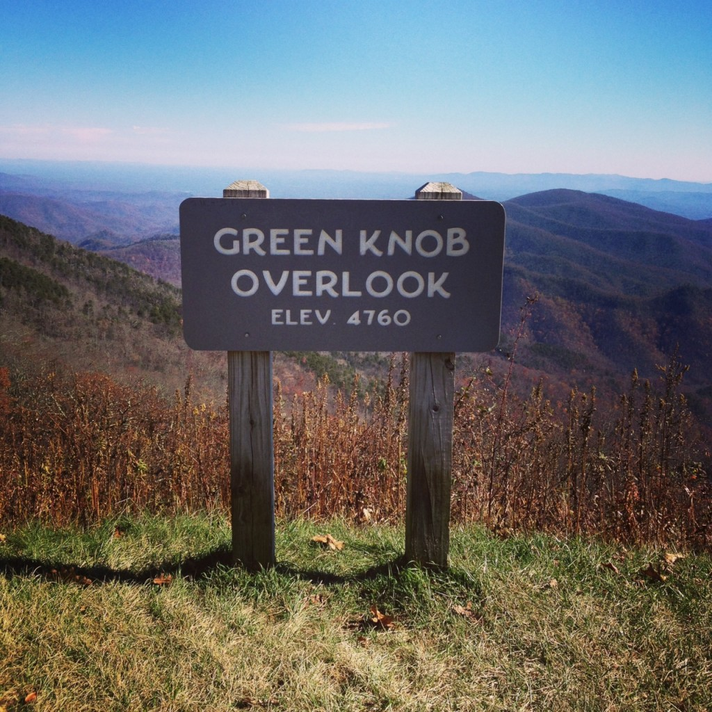 green knob